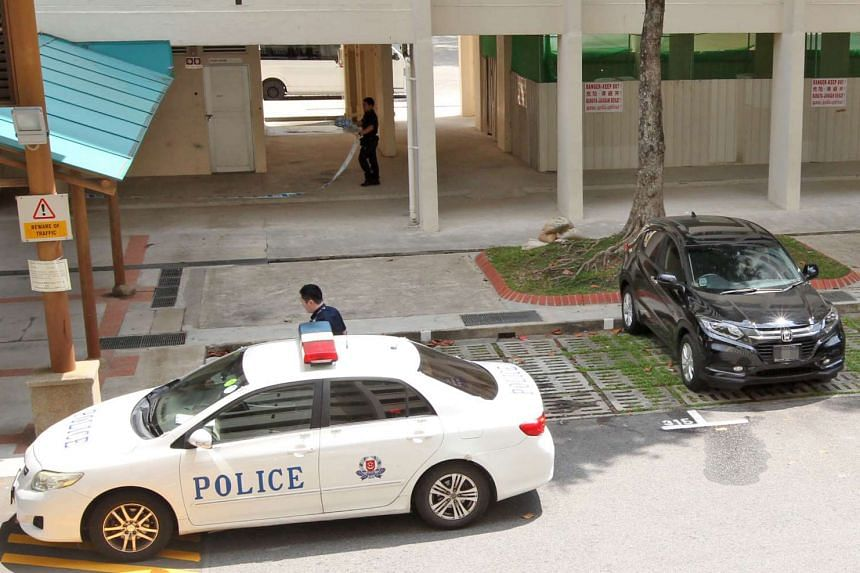 A 41-year-old woman was found dead in her car at a Tampines carpark.