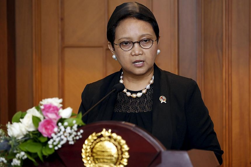 The clarification comes after a ST report on Wednesday (April 27), which quoted Mr Atmadji as saying that Indonesian Foreign Minister Retno Marsudi (pictured) had sent the list of fugitives to the Singapore authorities recently.
