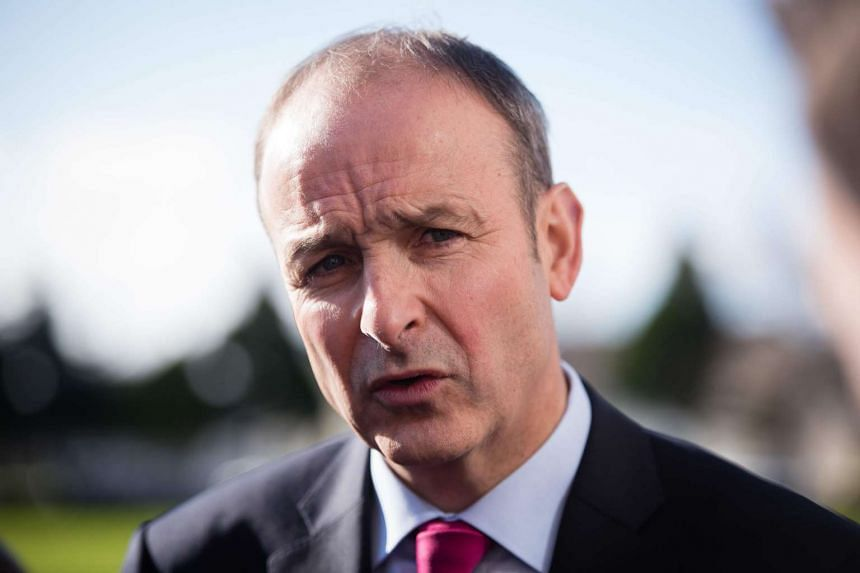 Irish Prime Minister Enda Kenny's Fine Gael party was poised to form a minority government on April 29, 2016, after striking a deal with its longtime rival Fianna Fail (above), following inconclusive elections in February.