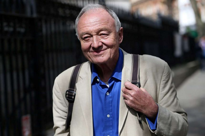 Former London mayor Ken Livingstone leaves after appearing on the LBC radio station in London, on April 30, 2016.