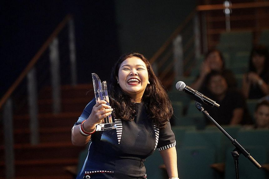 Siti Khalijah Zainal, Best Actress at the recent M1-The Straits Times Life Theatre Awards, represents the new generation of theatre practitioners.