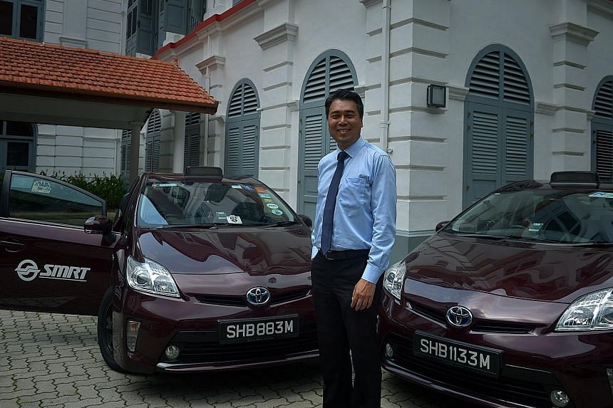 Mr Heng, who used to drive buses for his family's transport firm, understands the stress taxi drivers are under on the roads. The general manager for SMRT Taxis received a Medal of Commendation from NTUC yesterday for his enlightened management style