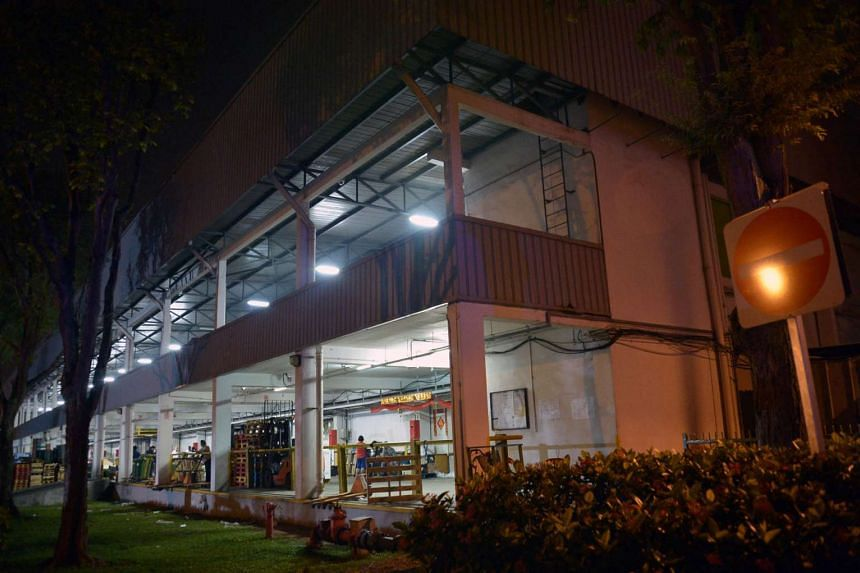 Ammonia leaked into a cold room at Pasir Panjang Wholesale Centre.