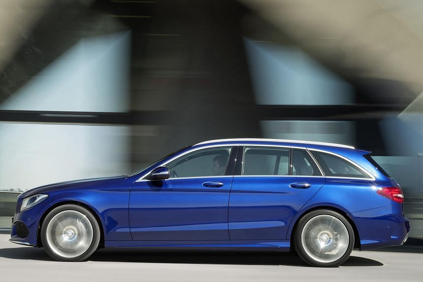 The Mercedes-AMG C43 – in sedan and wagon form (above) – follows the recently unveiled C43 Coupe.