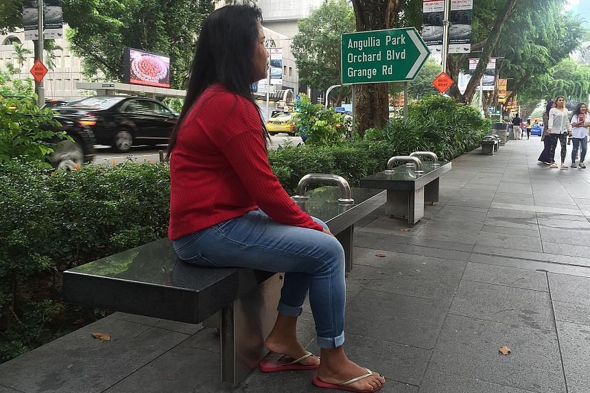 Ms Yanti did not know her former employer had applied for in-principle approval for her - resulting in the application being blocked when she wanted to work for someone else. The Manpower Ministry said such occurrences are rare, and that Ms Yanti and