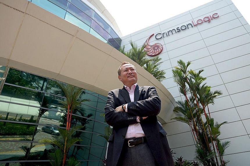 "In Singapore, CrimsonLogic does not compete for all projects, says Mr Saw Ken Wye. ""I'm very selective in where I bid and play."" Today, the company has projects in more than 30 countries, and derives nearly 60 per cent of its revenues from overseas."