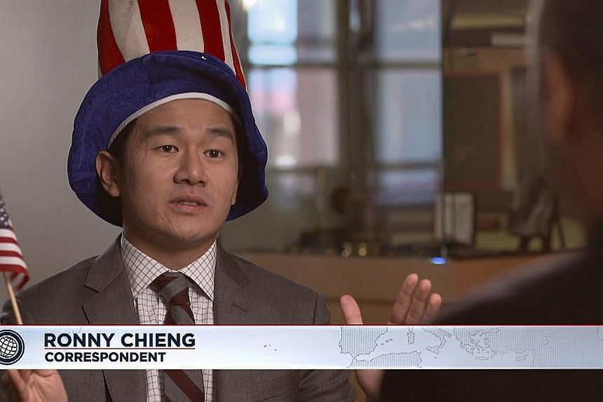 Comedian Ronny Chieng is a correspondent on American news satire programme The Daily Show With Trevor Noah.
