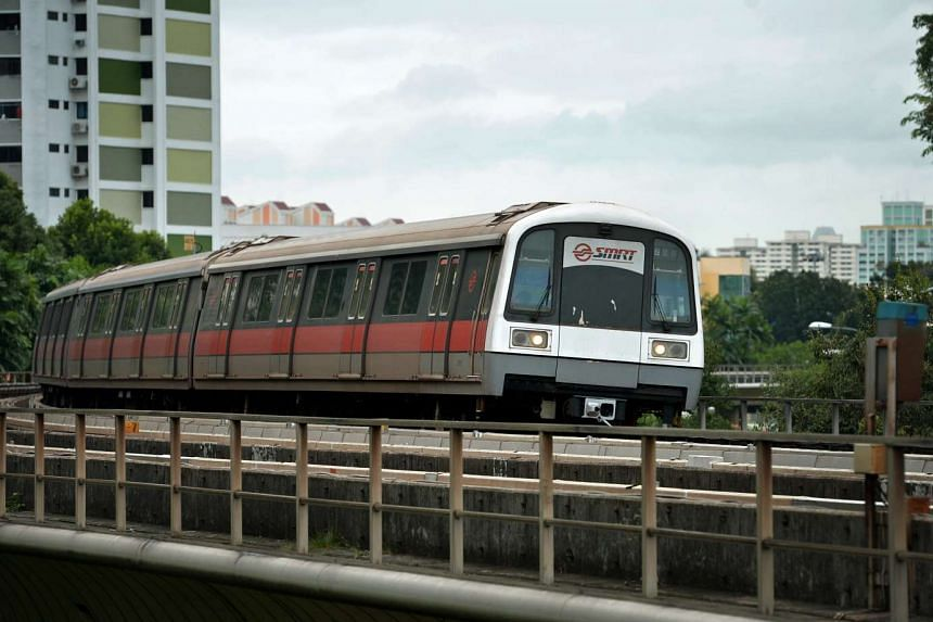 A train fault at Toa Payoh station has resulted in a delay in train services on the North-South Line from Marina South Pier to Toa Payoh stations.