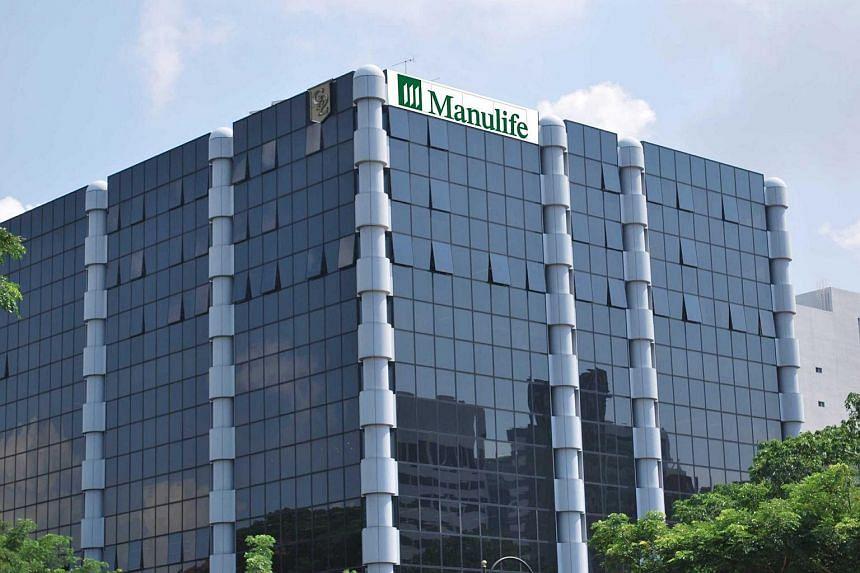 Manulife Centre at Bras Basah.