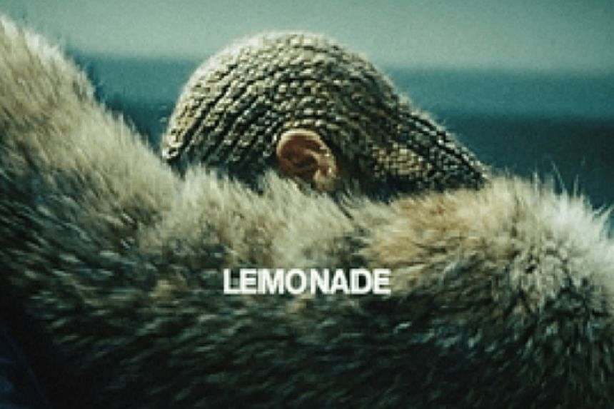 A mysterious image adorns the cover of Lemonade by Beyonce.  Copyright: PARKWOOD Source: PARKWOO
