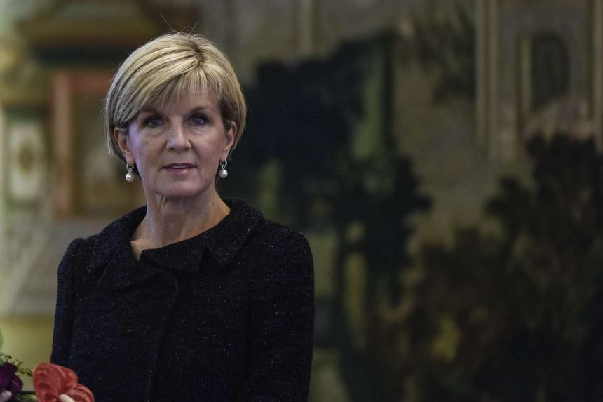 """Australian Foreign Minister Julie Bishop may have exposed """"highly sensitive"""" documents to her partner during a UN meeting in New York last year, according to a media report."""
