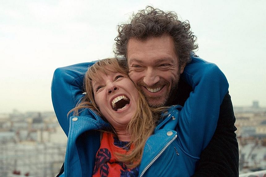 Vincent Cassel and Emmanuelle Bercot (both above), the couple blinded by passion in Mon Roi.