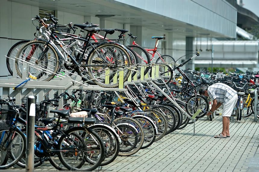 From July, property developers will have to incorporate facilities for cyclists, such as bicycle parking (above) and shower rooms, in their designs.