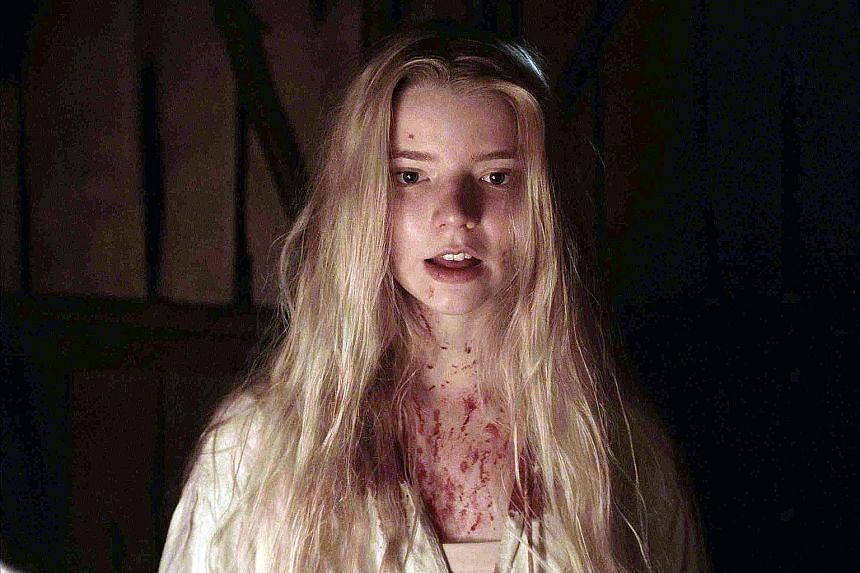 Anya Taylor-Joy (above) gives a powerful performance in The Witch.