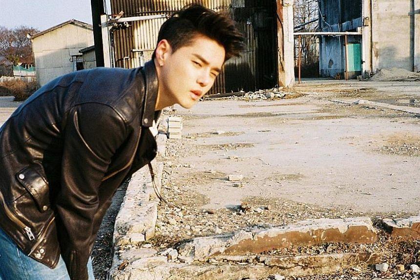 South Korean songwriter Dean.
