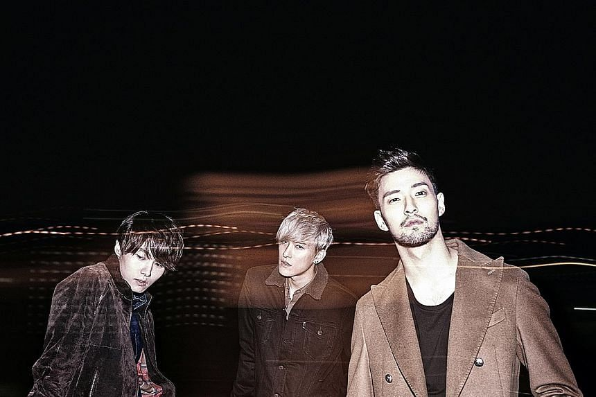Royal Pirates comprise (from far left) Kim Moon Chul, Kim Soo Yoon and James Lee.