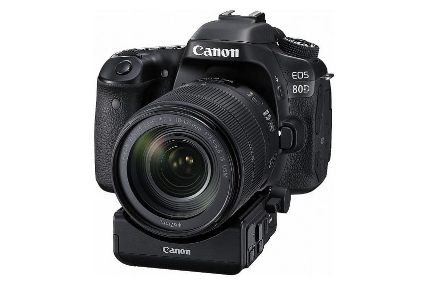 The Canon EOS 80D's operation is swift. Start-up and shutdown are immediate, with shutter lag virtually non-existent.
