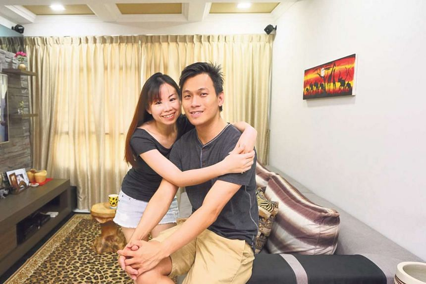 Mr Wang Shunli, 33, and his wife, Mrs Wang Xuelin, 34, succeeded in buying a unit in 2011, and moved into their new home in October 2014.