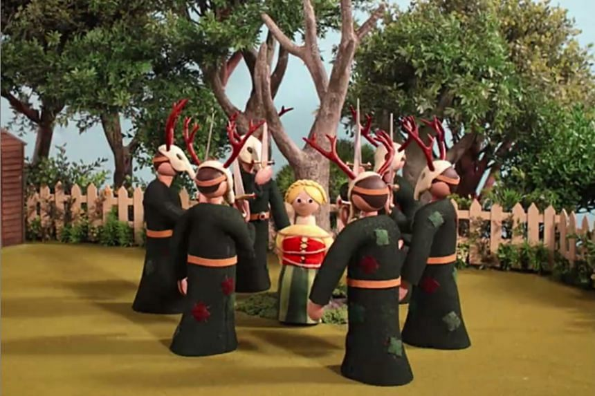 Radiohead released a video for a song entitled Burn The Witch on Tuesday.