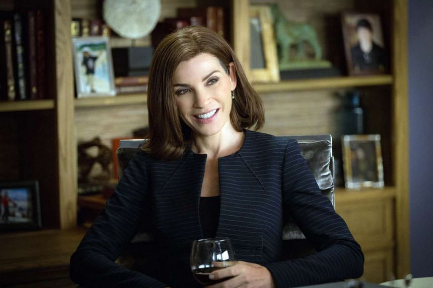 Julianna Margulies has been wearing a wig on the show since it debuted in 2009.