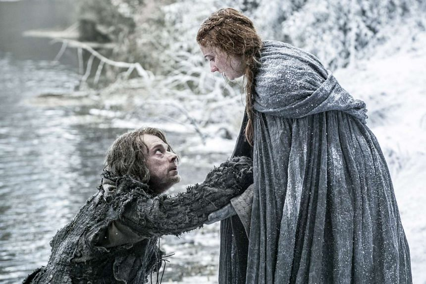 The new season of Game Of Thrones has a distinctly feminist slant, teeing up newly ascendant female characters including Sansa Stark (above, with Theon Greyjoy).
