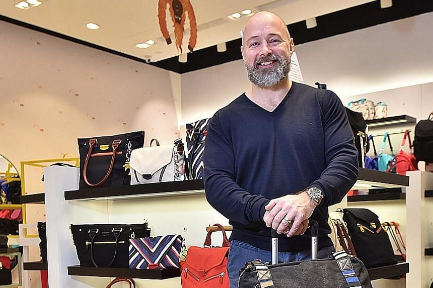 Mr John Gearing, vice-president of VF Corp, which owns Kipling, wants to take the brand in a new direction and open bigger shops.