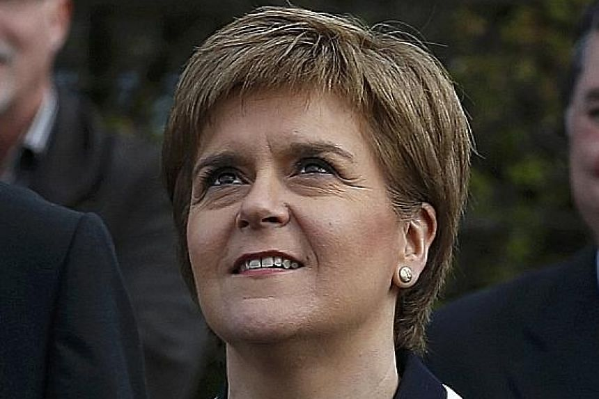 Local elections in Britain are expected to bring good news to (from far left) Scottish National Party leader Nicola Sturgeon, London mayoral candidate Sadiq Khan and UK Independence Party head Nigel Farage.