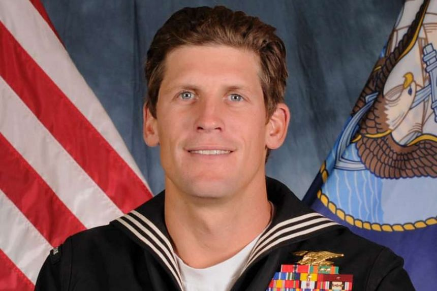 Navy Seal Charles Keating was struck by a bullet during a pitched battle on Tuesday.