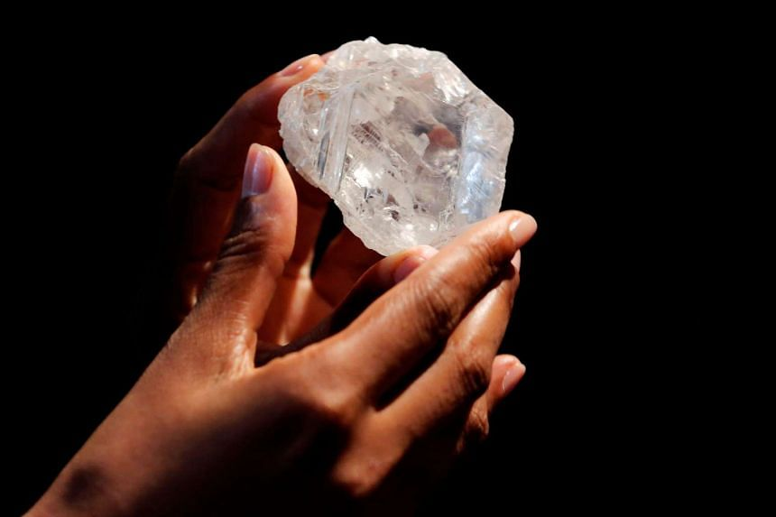 The diamond is expected to sell for US$70 million (S$95 million).
