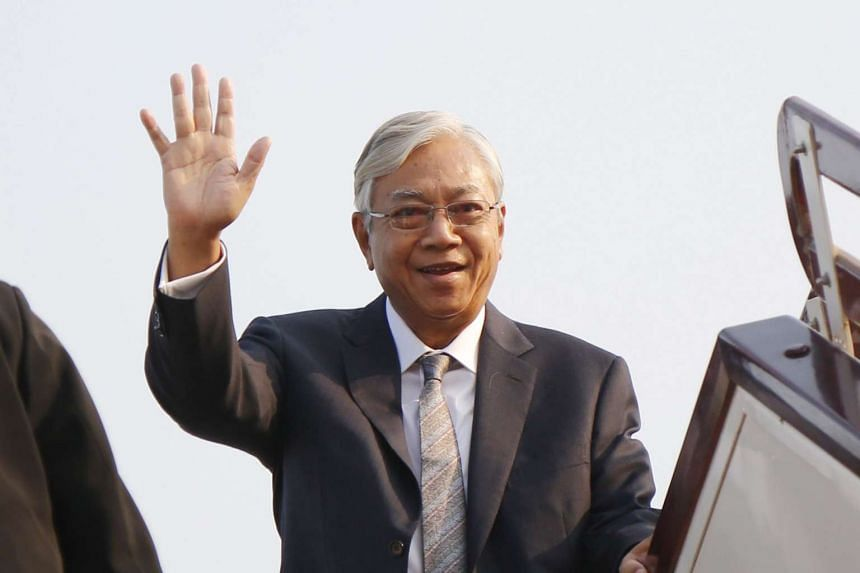 Myanmar President Htin Kyaw (above) has urged the creation of a new ministry for Aung San Suu Kyi's state advisor position.