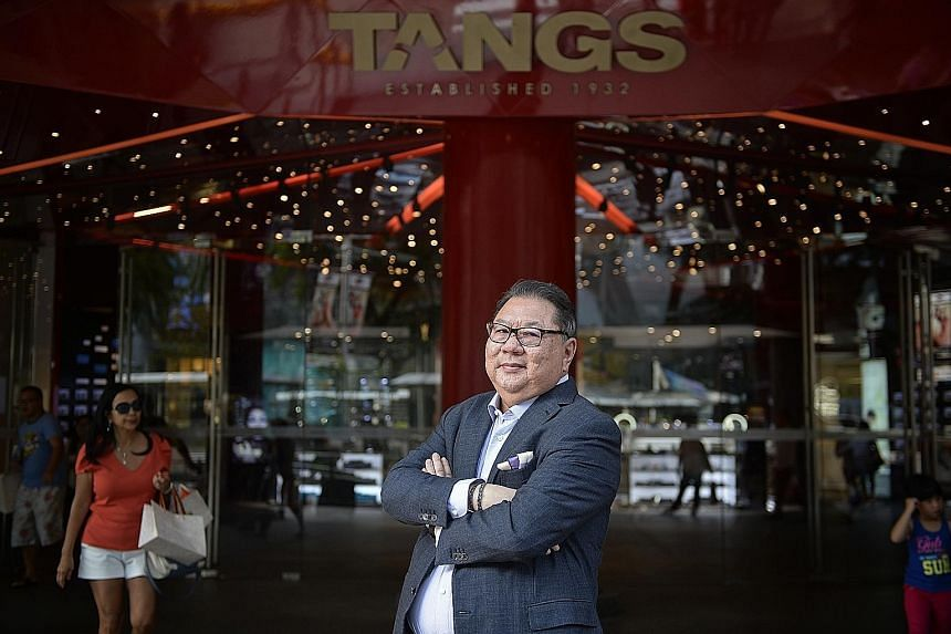 Mr Tang Wee Sung, one of C.K. Tang's owners and directors, sold the majority stake to Tang Holdings, ensuring the shares remained in the family.