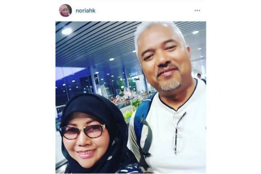 """Datuk Noriah Kasnon mentioned that she was """"flying to the clouds"""" on Facebook a day before her Sarawak trip."""