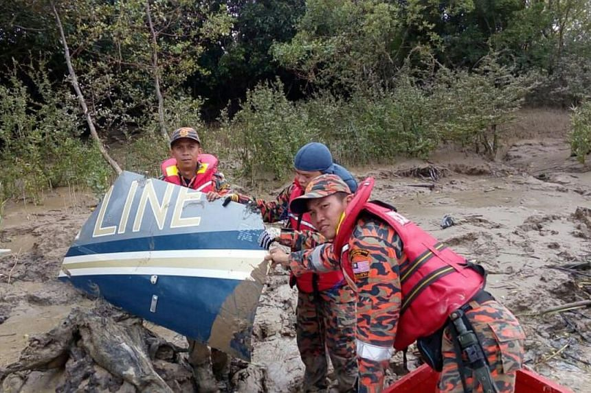 The search and rescue operations are being carried near Batang Lupar where debris believed to be that of the missing helicopter was found.