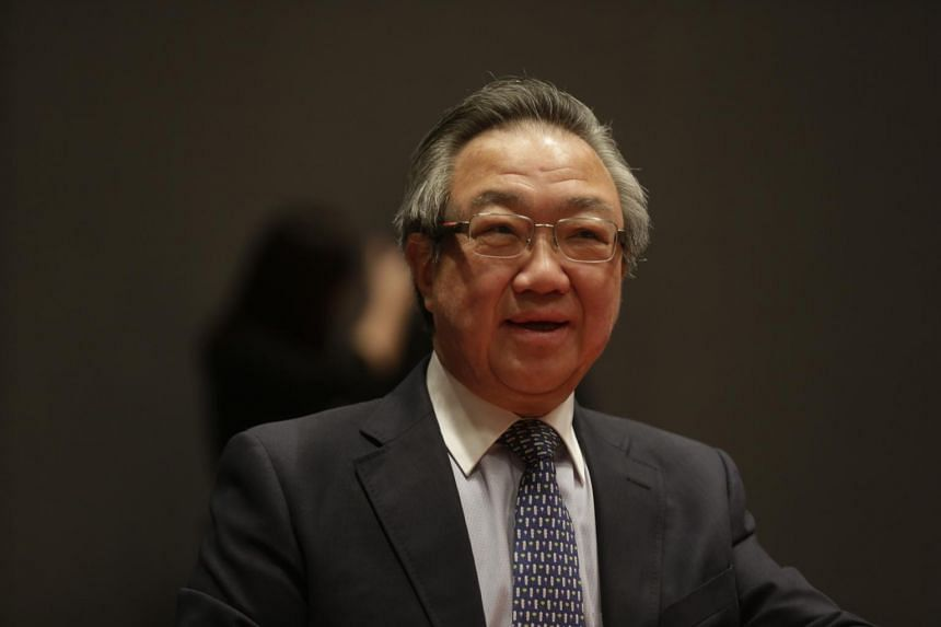 Raffles Medical chairman Loo Choon Yong at the Constitutional Commission hearing on elected presidency on May 6, 2016.