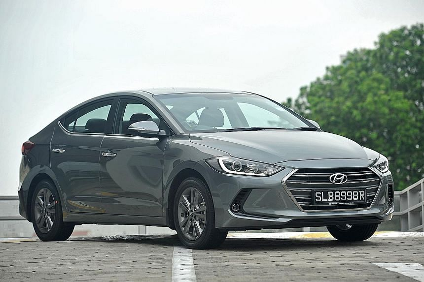 The new Elantra looks sporty and comes with a number of premium features.