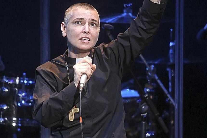 Arsenio Hall is claiming US$5 million (S$6.79 million) in damages from Sinead O'Connor (above) for alleging he supplied drugs to Prince.