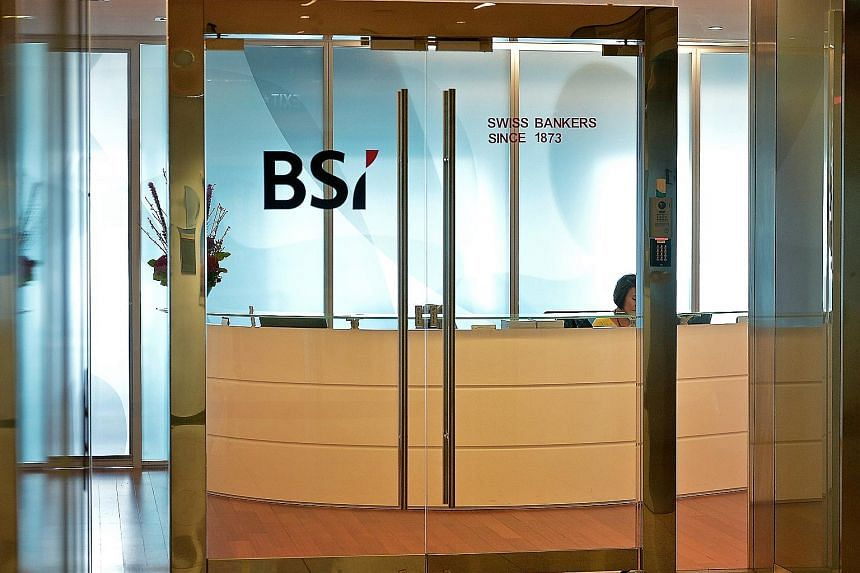 Sources said the the banks are reviewing the idea of collecting data at a newly created registry and using the information when deciding whether to approve applications for new accounts. The talks come as Singapore froze bank accounts as part of prob