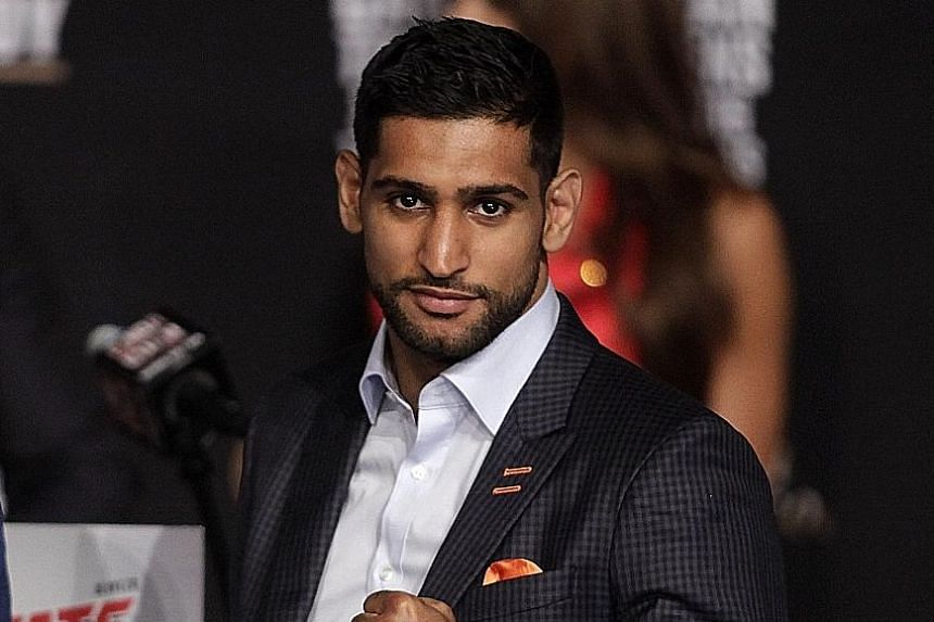 Amir Khan has moved up from welterweight to middleweight in order to get the title fight against Saul Alvarez in Las Vegas tonight.
