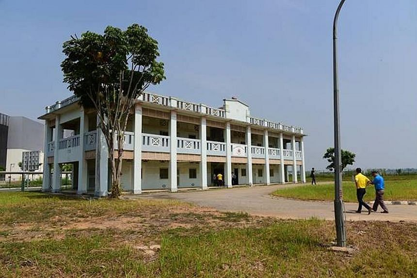 The 2ha land parcel at Seletar Aerospace Park - one of the three alternative sites offered - comes with a historic conservation building.