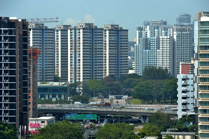 Developers were slightly more positive about Singapore's real estate market in the first quarter than they were late last year.