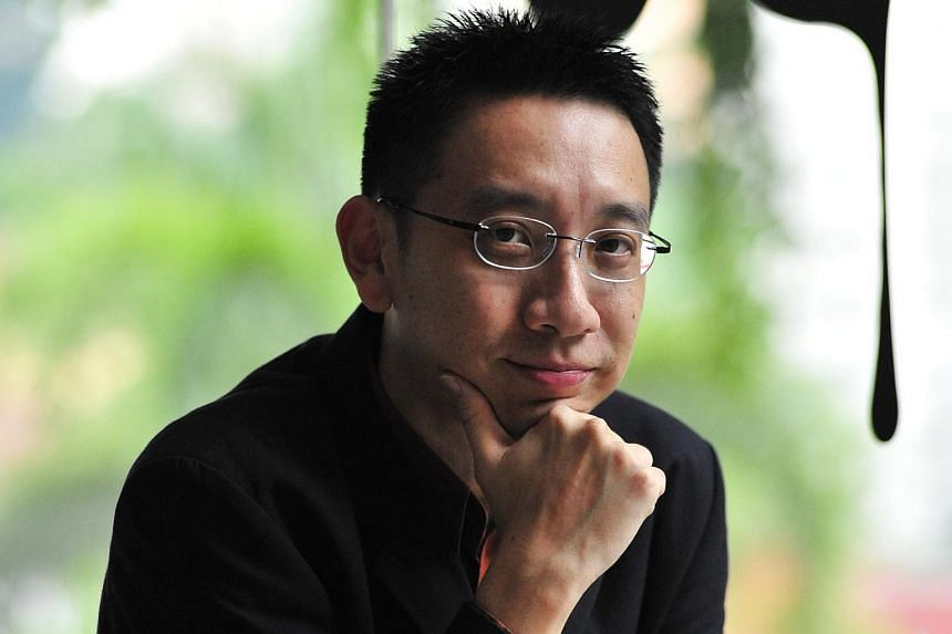 Singaporean poet Alvin Pang.