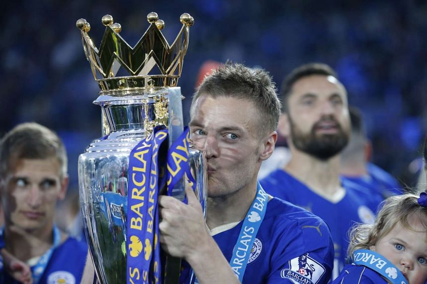 Image result for jamie vardy epl title