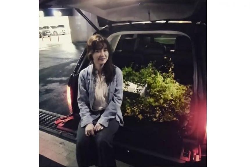 Actor Ahn Jae Hyun posted a video of his marriage proposal to actress Ku Hye Sun on Instagram.
