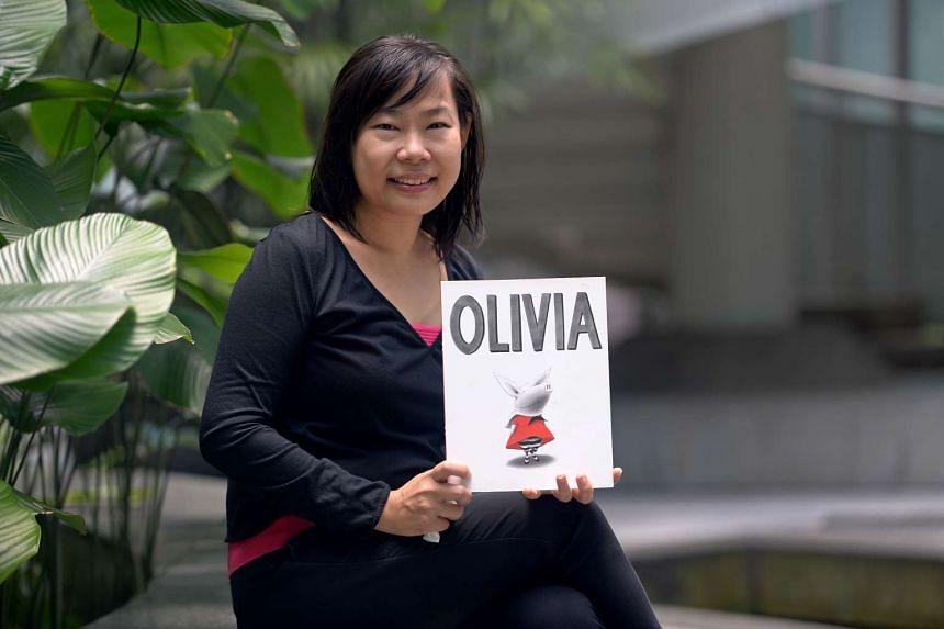 Children's author Adeline Foo, 45, married with three children