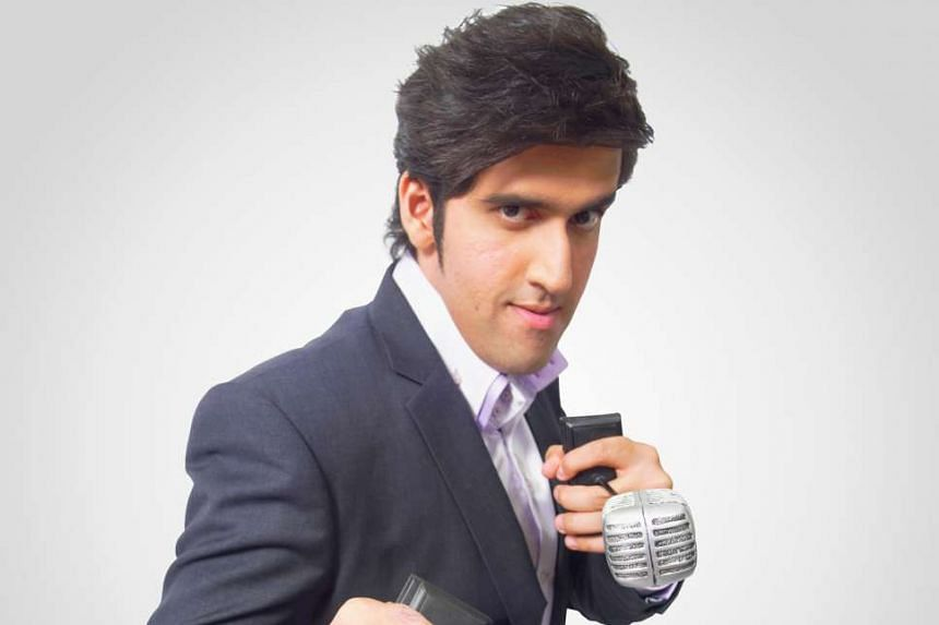 Stand-up comic Rishi Budhrani, 31, married with no children