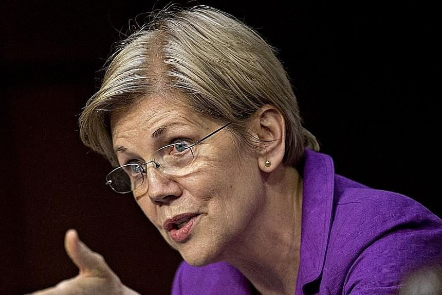 Democratic front runner Hillary Clinton (left) may choose Senator Elizabeth Warren (below) to connect with supporters of rival Bernie Sanders, say experts.