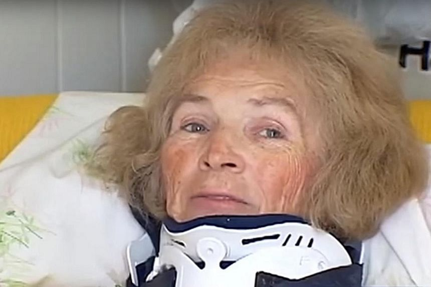 More than two decades after Ms Franco became blind following a car accident, she fell at her home in Florida, hitting her head. The subsequent operation seems to have led to the recovery of her sight.
