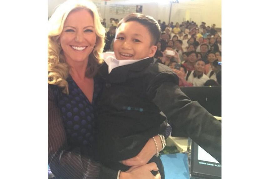 Michelle Mone, Baroness of Mayfair, mistook a 46-year-old man for a six-year-old boy in Vietnam.
