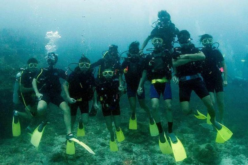 The dive centres - Gill Divers, Deep Blue Scuba, Eko Divers, 7 Scuba and Amazing Dive - will be assessed this month for the UN certification.
