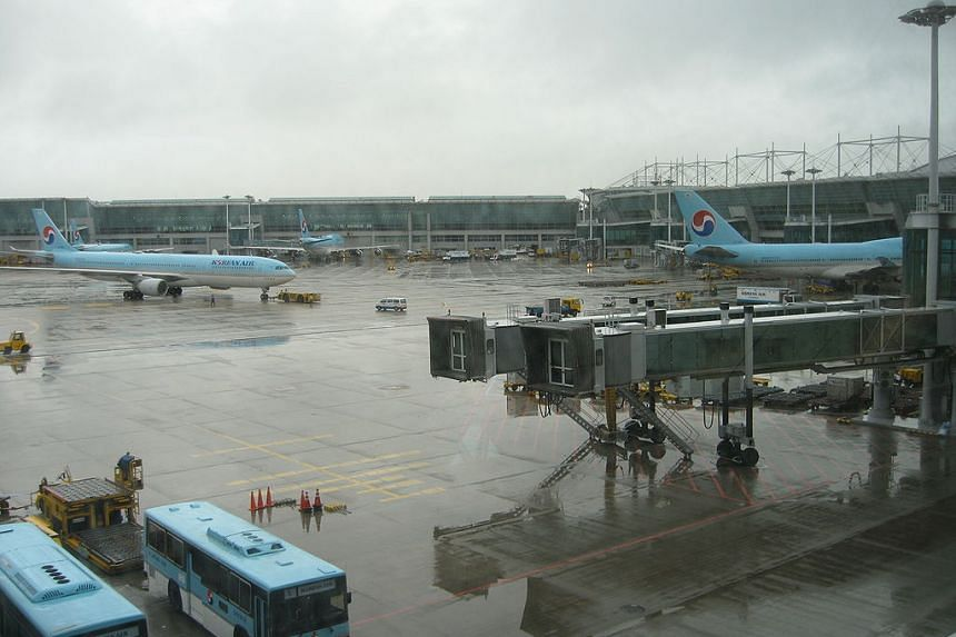 A file photo of a Korean Air A330 taxiing out at Incheon International Airport.